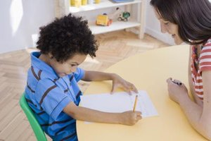 Kindergarten assessments are typically done one-on-one.