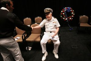 The sailor may leave the Navy, but Navy never leaves the sailor.