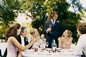 Weddings are a profitable market niche for caterers.