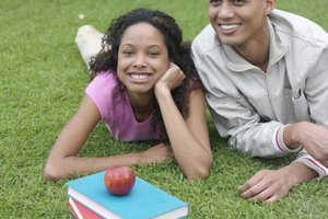 Students with healthy habits can lead a happy life.