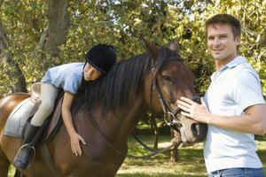 Certified riding instructors ensure that their students receive safe and enjoyable lessons.