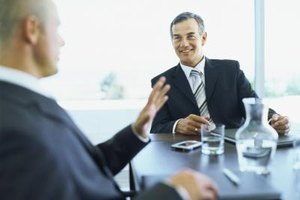 Account managers build strong relationships with key customers.