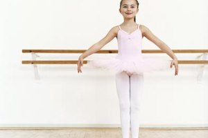 A young child might enjoy learning basic ballet positions.