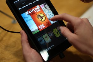 How to Bring Up the E Drive for the Kindle Fire