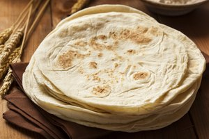 Tortillas de harina integral.