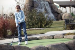 Miniature golf courses are plentiful in and around Ontario.