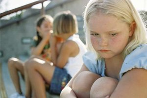 Foster children can appear sad, listless and unmotivated.