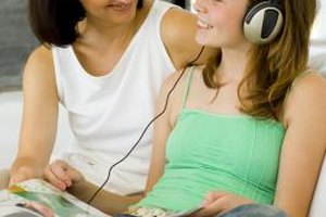 Inspirational music can improve teens' concentration while studying.