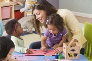 The early childhood educator can act as a positive role model.