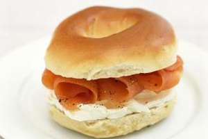 Smoked salmon and cream cheese need ingredients for texture and flavor contrasts..