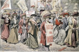Which Act Gave Women the Right to Vote in Britain?