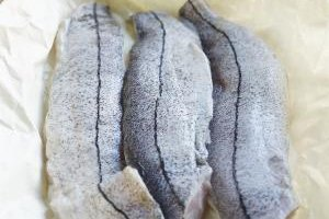 Grill haddock with or without the skin.