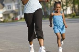 After you read a book focused on healthy habits, take your little one for a run around the neighborhood.