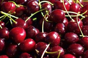 Don't substitute sweet cherries for sour cherries in fresh recipes.
