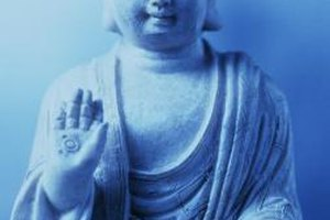 The Buddha taught people how to rise above life's suffering.