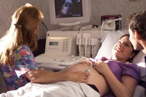 As an ultrasound technician, you may choose to specialize in obstetrics.