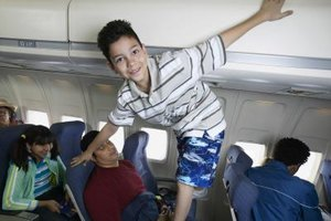 Minors usually require supervision when flying.