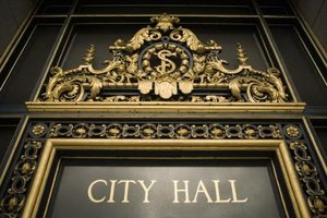 A city council is an elected body that governs a municipality.