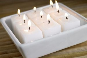 Paraffin wax has many uses, including candle making.