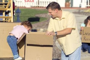 Talk with your child to identify important possessions to pack for the move.