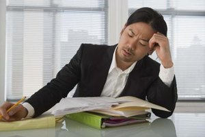 Being overworked can cause stress and burnout in employees.