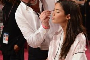 Movie makeup artists earned more in New York and California.