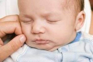 If your newborn falls asleep, he probably doesn't need to burp.