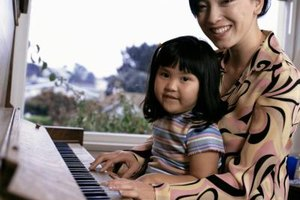 Even 3-year-olds can learn basic piano skills.