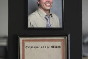 Decorate your office with pictures, certificates and trophies to show your employees that you appreciate their hard work.
