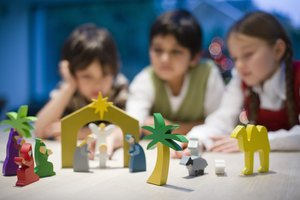 How to Plan a Nativity Lesson for a Preschool