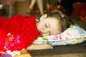 Toddlers benefit from daily naps.