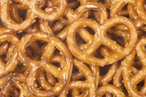 Shape doesn't matter when choosing pretzels to crush.