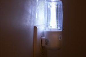 Nighlights can partially illuminate dark rooms and hallways.