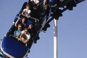 Add some extra excitement to your trip by riding one of Six Flags' roller coasters.