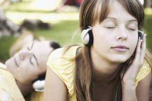 Your teen can listen to positive affirmation throughout the day on an mp3 player.