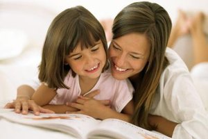 Reading and sharing books is an important step to literacy.