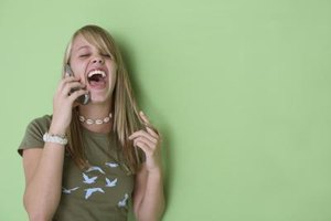 Talking on the phone is verbal communication, but teens also engage in many nonverbal forms of communication.