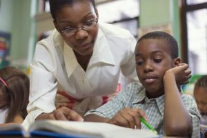 The special education teacher can provide one-on-one instruction.