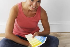 You can paint a toddler's bedroom as long as you have the right paint.