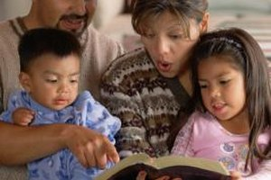 Reading Bible stories help children understand more about Jesus.