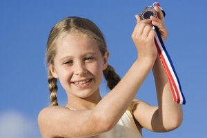 A confident child is likely to achieve her goals.