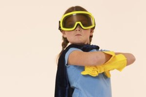 Engaging in imaginative play is a favorite activity of your budding superhero.