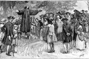 George Whitefield preached to any who would listen.