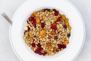 Store granola in a covered container in a cool, dry location.