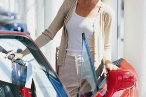 Some purchasers focus on cars for dealer showrooms.