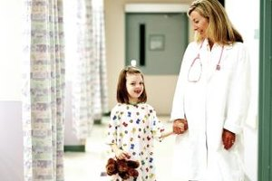 Pediatric nurse practitioners work with children in hospitals, doctor's offices and other healthcare settings.