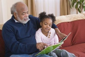 Children can benefit from their grandparents' wisdom and experience.