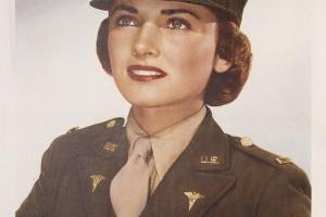 The Army Nurse Corps provided careers for many nurses during WWII.