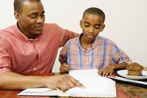 Taking time to be involved in your child's academic achievement will help his academic performance.
