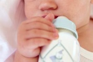 Propping bottles can harm your baby.